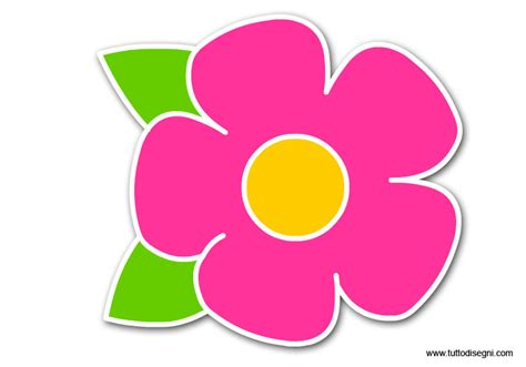 disegno fiore stilizzato addobbi per porte e finestre fiore tuttodisegni
