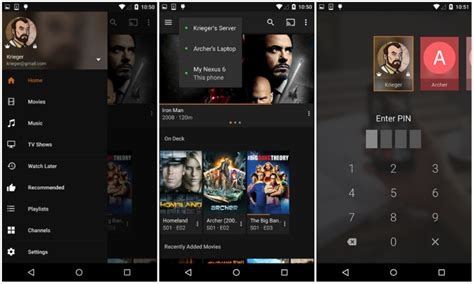 plex media server android apk image gallery plex android