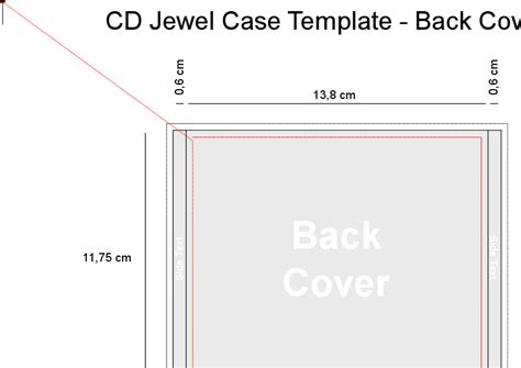 doc 585509 jewel case template jewel case template 11
