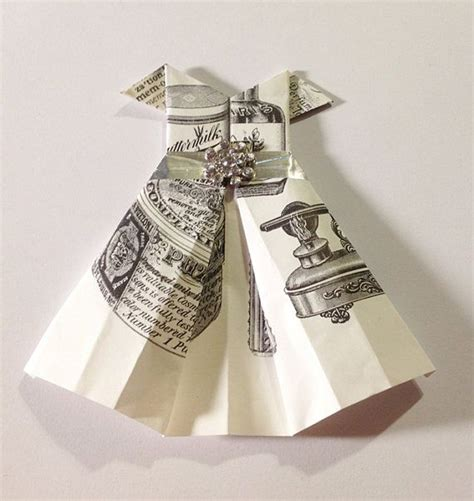 Origami Money Dress - 17 best images about origami dresses on