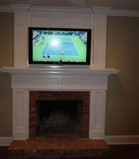 fireplace tv mount ideas tv fireplace tv fireplace mount home living room new house fireplaces