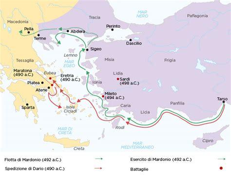 seconda guerra persiana riassunto dalla rivolta ionica alla prima guerra persiana studia