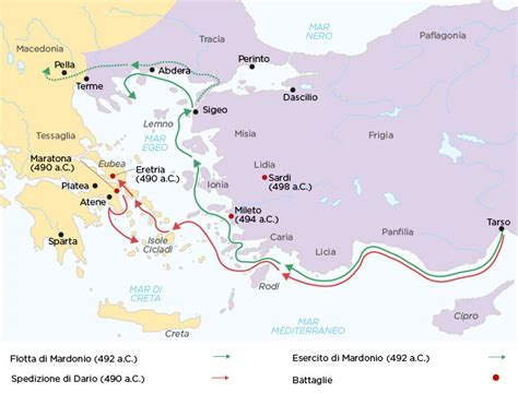 guerra persiana dalla rivolta ionica alla prima guerra persiana studia