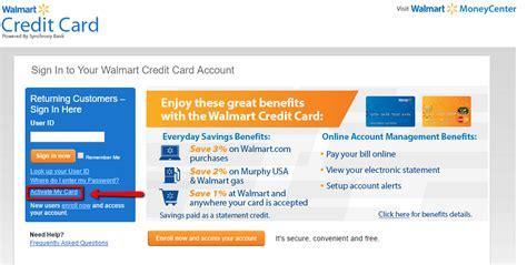 walmart discover card make payment walmart credit card login make a payment creditspot