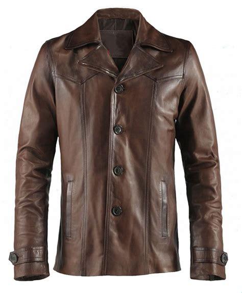 Jaket Kulit Wanita Brown jaket kulit heist vintage brown jaket kulit