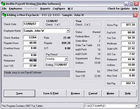 payroll accounting software payroll software
