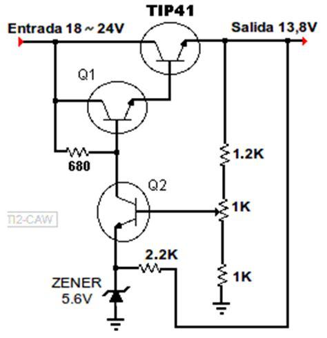 transistor 2n3055 steren construir reguladores de voltaje con transistores