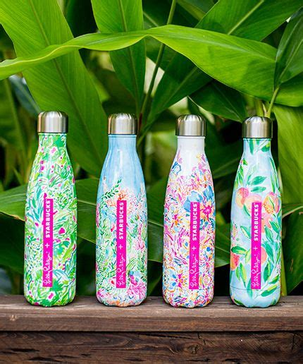 lily pulitzer swell starbucks lilly pulitzer limited edition swell bottles