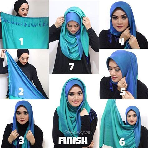 tutorial hijab pasmina fasion i love this hijab style it looks so classy and would be