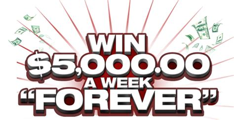 Publishers Clearing House Forever Prize - publisher s clearing house forever prize win 5 000 a week forever fabgrandma