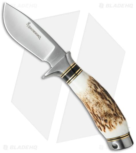 browning skinning knife browning non typical skinning knife stag 3 quot satin