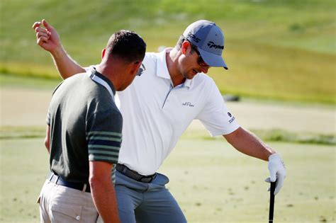 justin rose swing coach us open best practice day photos golfmagic