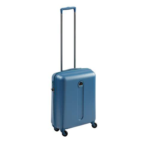 delsey cabin trolley delsey helium 4wheel cabin trolley suitcase in blue for