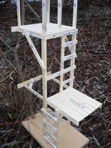 Hunt Box Floor Plans by 15ft Deer Stamd Build Your Stand