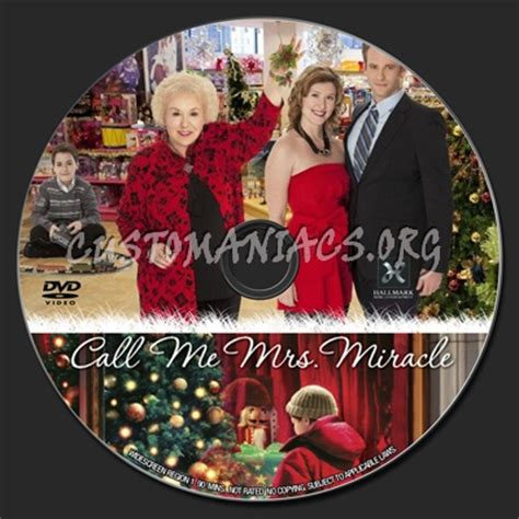 Call Me Mrs Miracle Free Megavideo Call Me Mrs Miracle 2010 Dvd Label Dvd Covers Labels By Customaniacs Id 124650 Free