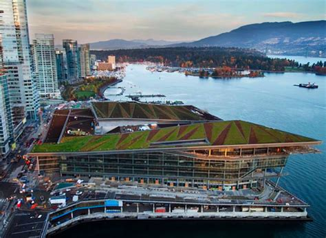 vancouver convention centre green roof flynn group of jetson green vancouver convention centre features canada