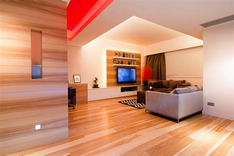 wood living room wooden apartment in hong kong