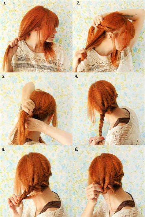 hairstyles and braids tutorial reverse crown braid tutorial in image hairstyles weekly