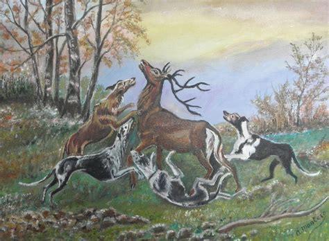 cuadros de caza la caza mayor andr 233 s montero santos artelista