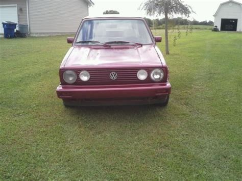 sell used 1989 volkswagen cabriolet in park city kentucky