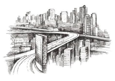 vector of draw city nature vector free vector free vector vip