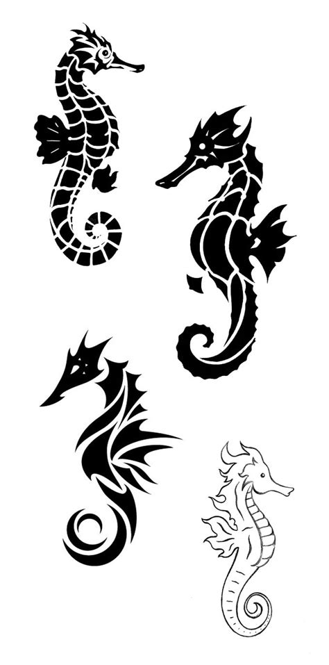 design noir meaning seahorse tattoo meaning tattoos meaning strength
