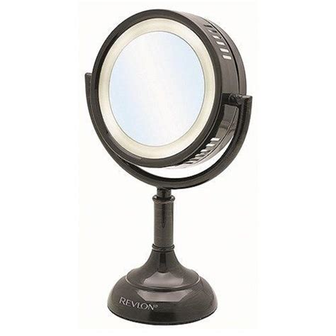 home depot lighted mirror revlon 6 in x 13 in timeless lighted mirror