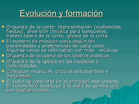 or 237 gen de la evoluci 243 n de la orquesta del barroco al s xx jj