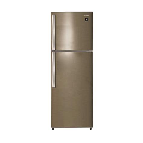 Kulkas Sharp Freezer Jual Sharp Sj 420gp Sd Kulkas 2 Pintu 242l Plasmacluster Harga Kualitas Terjamin