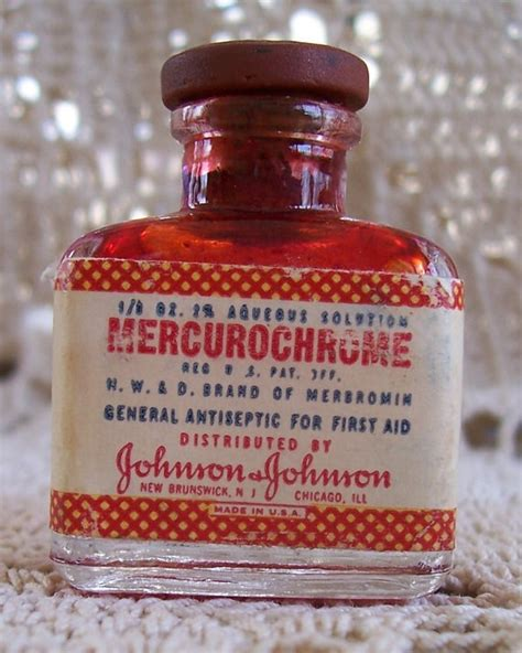 Mercurochrome Also Search For Pin By Susan Plants On Memories Of The 70 S Babies
