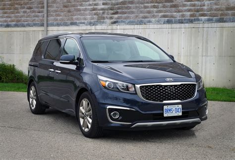 Kia Sedona Canada Review 2015 Kia Sedona Sxl Canadian Auto Review