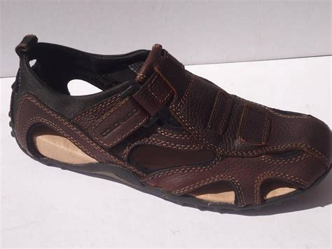 new colorado mens casual leather sandals shoes brown size
