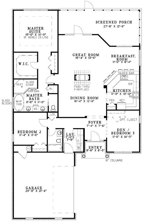 house plans with great kitchens 14 best images about house plans on pinterest