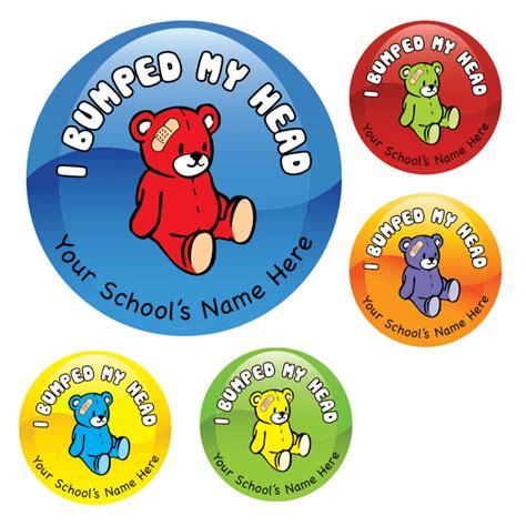 Aufkleber Schule by Bumped Teddy Stickers School Stickers