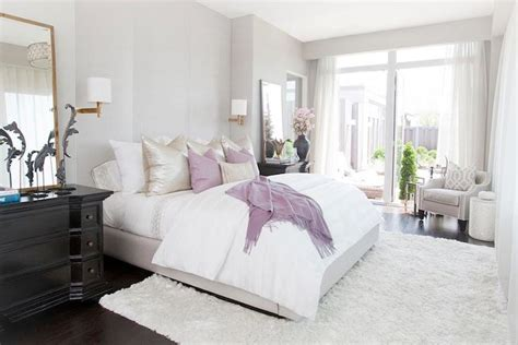 grey white purple bedroom gray purple bedroom interior design pinterest