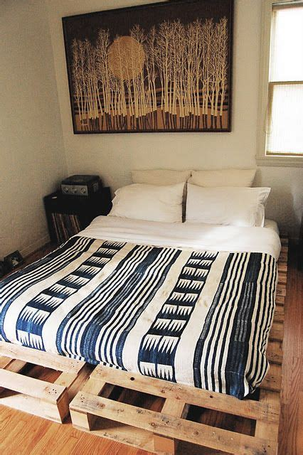 Diy Japanese Futon by Pallet Platform Bed Repurposed Pallets Crates Palette Bed Futon Mattress And