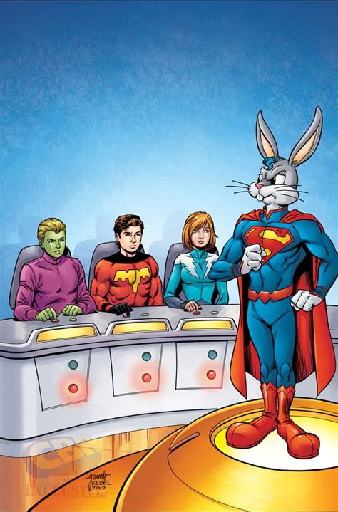 dc meets looney tunes details revealed for dc comics looney tunes crossover