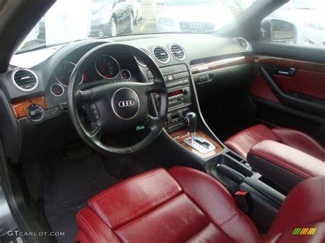 interior 2004 audi a4 3 0 quattro cabriolet photo