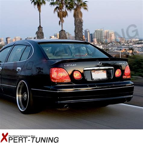 jdm lexus gs400 98 05 lexus gs300 gs400 jdm poly urethane trunk lip