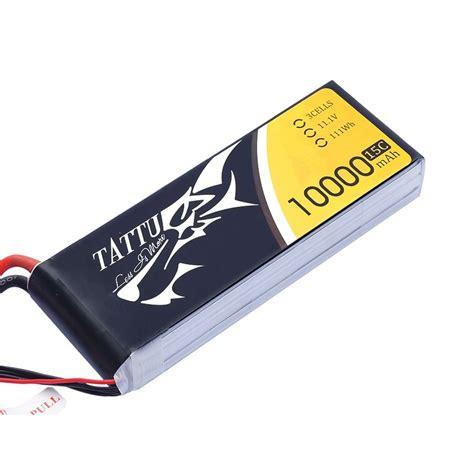 best 3s lipo battery tattu 10000mah 11 1v 15c 3s1p lipo battery pack gens ace