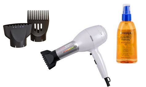 Chi Rocket Hair Dryer Attachments up to 35 on chi rocket low emf hair dryer groupon goods