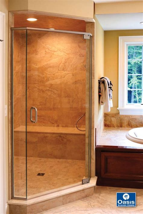 door swings shut neo angle shower to the and doors on pinterest