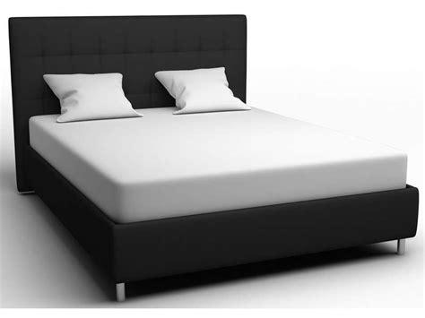 lit 160x200 cm coloris noir vente de lit adulte