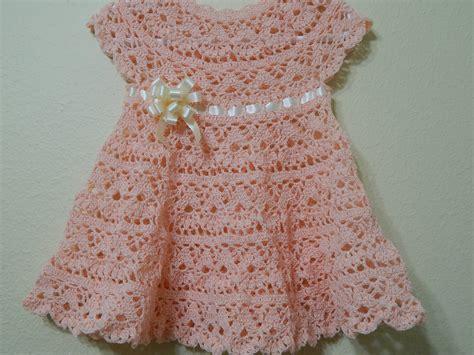 vestido en crochet para recin nacida vestido a crochet para bebe patrones gratis