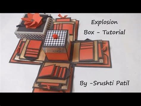 Explosion Box Tutorial Tagalog | 238 best images about cards explosion box on pinterest