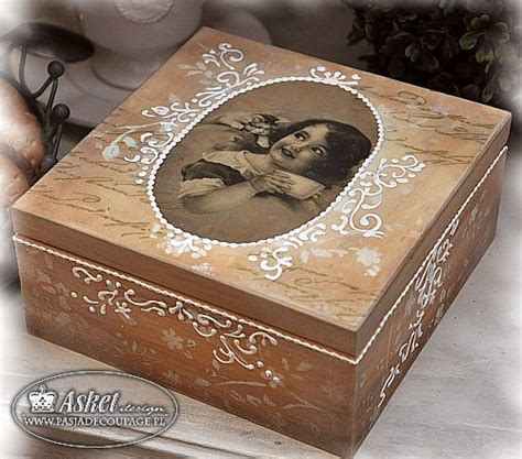 Decoupage On Wood Ideas - 25 best ideas about decoupage box on farewell