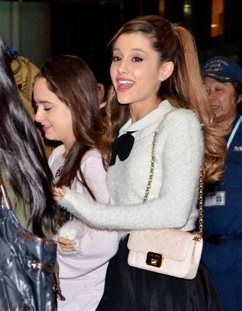 Arianna The Arrival grande arrives in japan zimbio