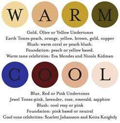 warm tone colors warm or cool undertone fashion meets food