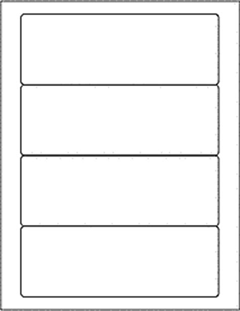 download label templates ol6200 7 quot x 2 5 quot labels