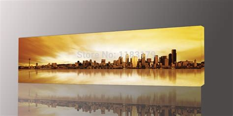 Home Decorating Ideas Painting Walls by Wall Art Designs Long Wall Art Long Yellow City Painting